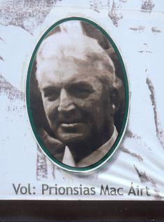Proinsias MacAirt IRA Member