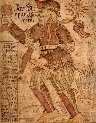Icelandic Manuscript, SÁM 66 - Image: Processed SAM thorr