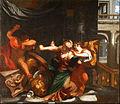 Procne e Filomela mostrano a Tereo la testa del figlio Iti - Artemisia Gentileschi.jpg