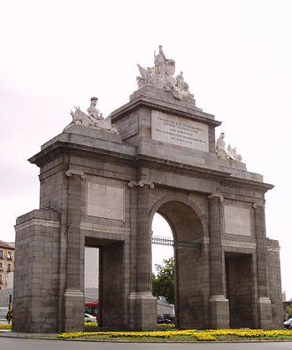 Las Acacias (Madrid) - Image: Puerta de Toledo