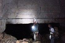 Puerta geometrica - Cueva de los Tayos.JPG
