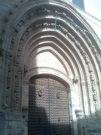 Archivolt - Image: Puerta loreto catedral orihuela