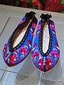 Pula (branch of Yi) female shoes - Yunnan Provincial Museum - DSC02128.JPG