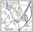 Battle of Pułtusk about 3 PM