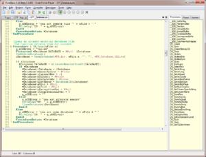 PureBasic - Image: Pure Basic IDE 5.10
