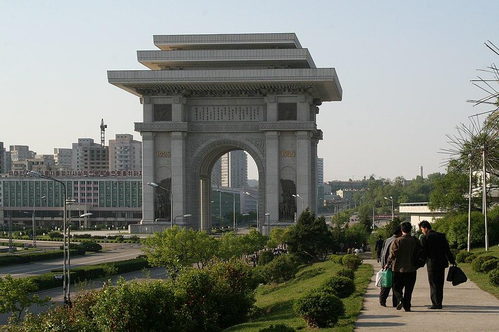 PyongYang-Arch of Triumph