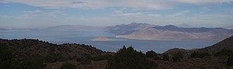 Pah Rah Range - Image: Pyramid lake pah rah