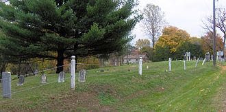 Norwich, Ontario - Quaker St burying ground