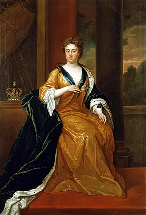 Stuart period - Queen Anne by Charles Jervas