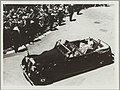 Queen Elizabeth II and the Duke of Edinburgh in Sydney for the Royal Visit, 1954 (12108501715).jpg