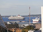 Queen Victoria leaving Tallinn 4 September 2013.JPG