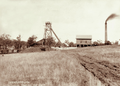 Queensland State Archives 2253 Coal mine at Blackstone near Ipswich 1898.png