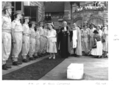 Queensland State Archives 7950 Her Majesty Queen Elizabeth The Queen Mother at St Johns Cathedral Brisbane February 1958.png
