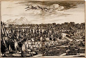 Dutch Malabar - Capture of Quilon in 1661.