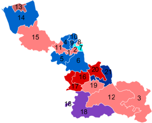 carte des circonscriptions du nord Élections législatives de 2012 dans le Nord — Wikipédia