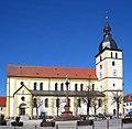 Röm-kath Pfarrkirche St. Jakob von 1896 Turm von 1606 Wahrzeichen von Mitterteich Oberpfalz Bayern - Foto Wolfgang Pehlemann IMG 1077.jpg