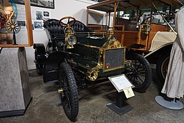 R. E. Olds Transportation Museum July 2018 14 (1905 Oldsmobile Touring Runabout Model N).jpg