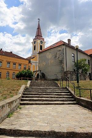 Tapolca - Image: R. k. templom (10451. számú műemlék) 4