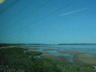 Raritan Bay - The south coast of Raritan Bay