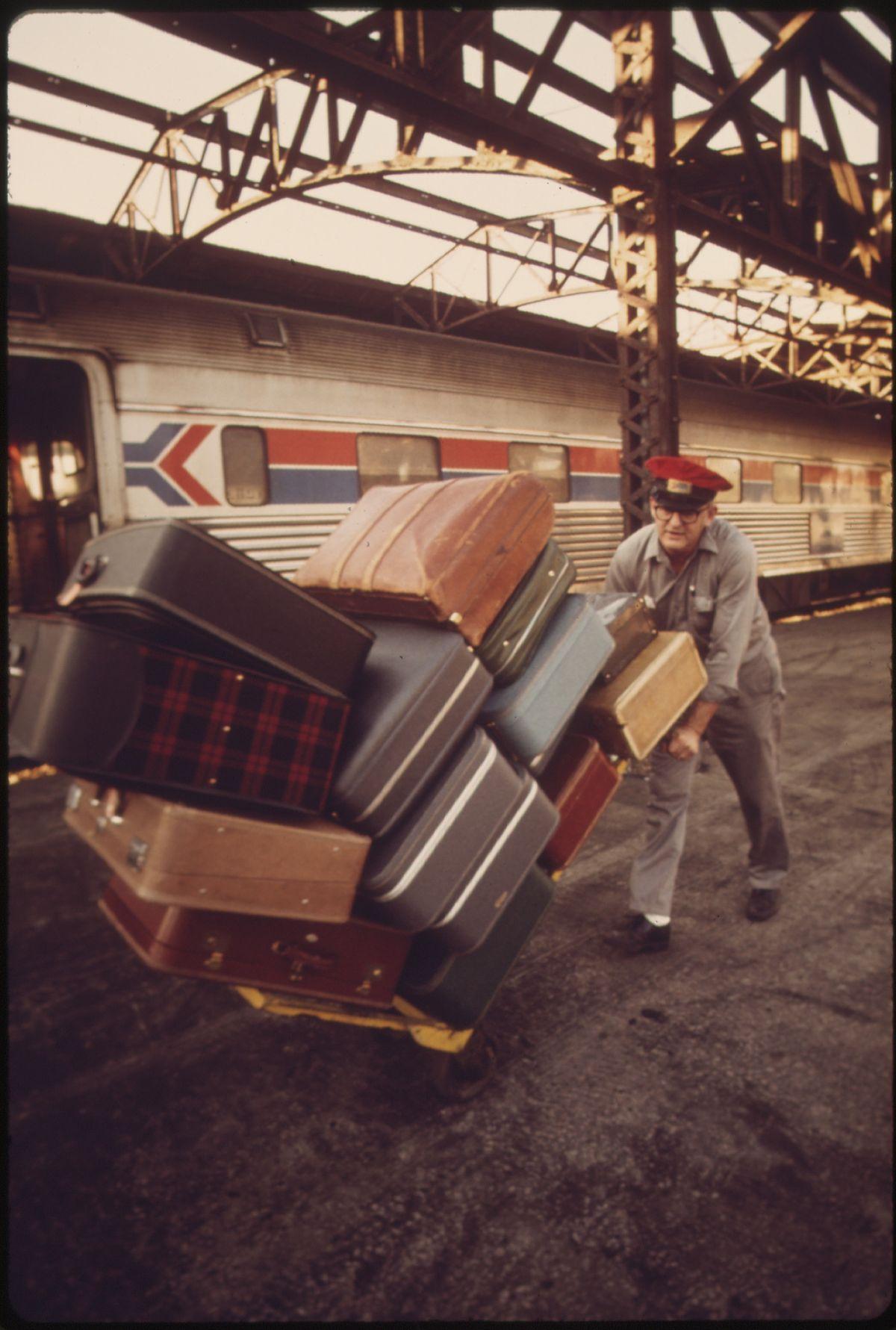 Spectacle de rencontres appelé bagages