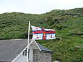 RNLI flag at Trebarwith - geograph.org.uk - 487107.jpg