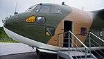 ROKAF C-123K(54-509) forward fuselage section left front view at Jeju Aerospace Museum June 6, 2014.jpg