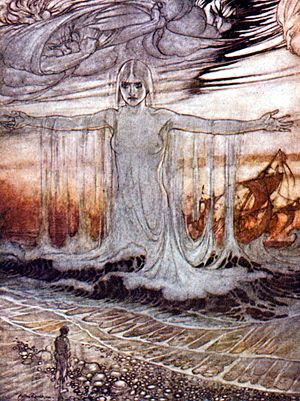 "Thalassa (mythology) - Thalassa defends herself in Aesop's fable, ""The Farmer and the Sea"""