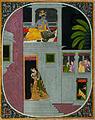 Radha goes to Krishna's house at night (6124592907).jpg