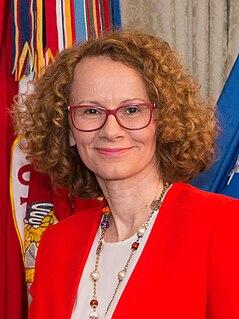 Radmila Šekerinska Macadonian politician