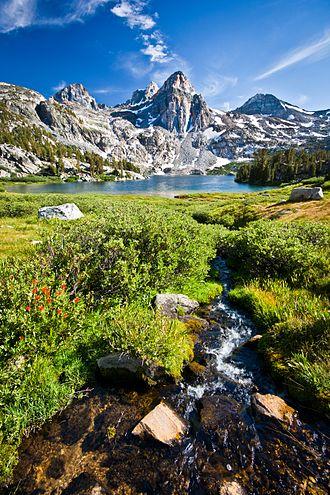 Sequoia-Kings Canyon - Rae Lakes Creek in Kings Canyon National Park, within the Sequoia-Kings Canyon biosphere reserve