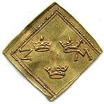 Raha; klippinki; markka; 2 markkaa - ANT2-628 (musketti.M012-ANT2-628 2).jpg