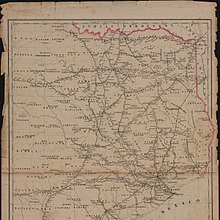 East Texas Wikipedia - Map of east texas