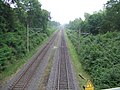 Railroad Tracks View, Leaving Marienfeld WYD 2005, Germany - panoramio.jpg
