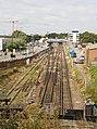 Railway lines approaching Southampton station - geograph.org.uk - 1502715.jpg