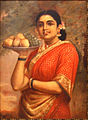 Raja Ravi Varma, The Maharashtrian Lady (2).jpg