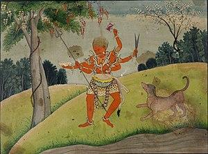 Bhairava - Rakta Bhairava