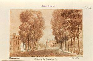 Maria Teresa Felicitas d'Este - Image: Rambouillet château 3 dessin