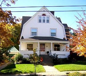 Randolph Bainbridge House - Image: Randolph Bainbridge House Quincy MA