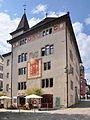 Rapperswil - Rathaus - Hauptplatz - Zytturm - Fischmarktstrasse 2011-07-29 17-04-28 ShiftN2.jpg