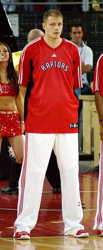 Radoslav Nesterović - Nesterović with the Toronto Raptors