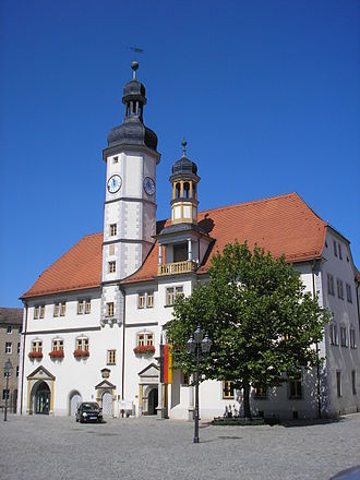 Eisenberg, Thuringia - Town hall (Rathaus) Eisenberg