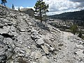 Raw granite landscape along the western side of the Tiltill Valley to Lake Vernon trail - panoramio.jpg