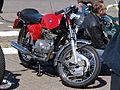 Red Benelli motorcycle.JPG