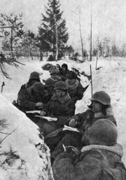 Red army party convention winter war