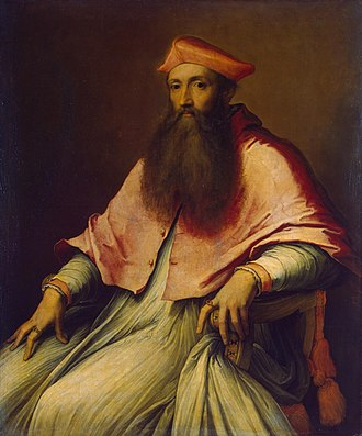 Corpus Christi College, Oxford - Image: Reginald Pole cardinal