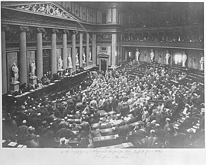 Cisleithanian legislative election, 1907 - Opening session of the House of Deputies, 17 June 1907