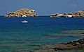 Relaxation. The gulf of St. Paul, Rhodes, Greece.jpg