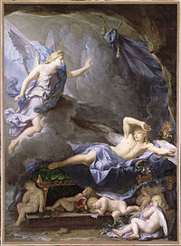 René-Antoine Houasse - Morpheus Awakening as Iris Draws Near, 1690.jpg