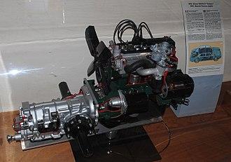 Renault Billancourt engine - Image: Renault Ventoux engine (1956)