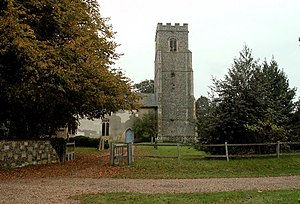 Rendlesham - Image: Rendlesham Church of St Gregory